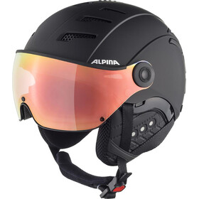Alpina Jump 2.0 HM Skihelm black matt